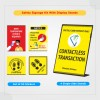 Safety Signage Kit - With Single Side Stand