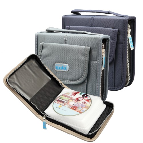 Computer CD Wallet Zipper Closure (CD040)