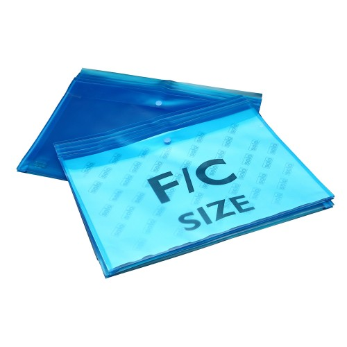 Document Envelope Bag , Button Closure - FC (CH118), Pack of 10