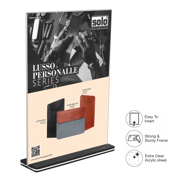 AD-UP Display Stand - Double side (Acrylic) A5, DSA51, Pack of 4
