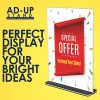 AD-UP Display Stand - Double side (Acrylic) A4, DSA41, Pack of 2