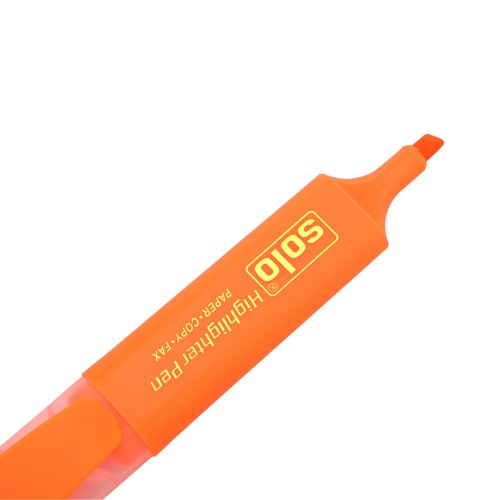 Highlighter Pen Orange (HLF03) Pack of 10 pcs