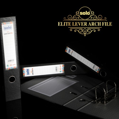 Elite Lever Arch File, F/C size, Pack of 5 pcs., LA412