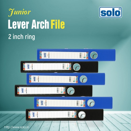 Junior Lever Arch File, 2 inch ring - LA501 (A4), Pack of 40