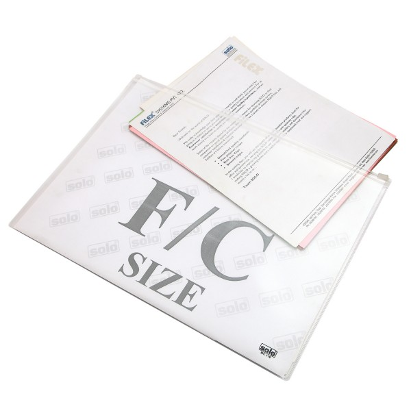 Zipper Document Bag - FC (MC116), Pack of 10