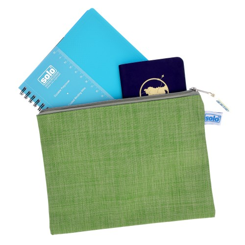 Fabric Zipper Pouch - A4 (MFF41), Pack of 3