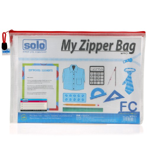 My Zipper Bag - MFFC1 (foolscap), Pack of 5