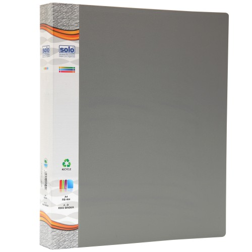 Ring Binder-4-D-Ring (RB404)
