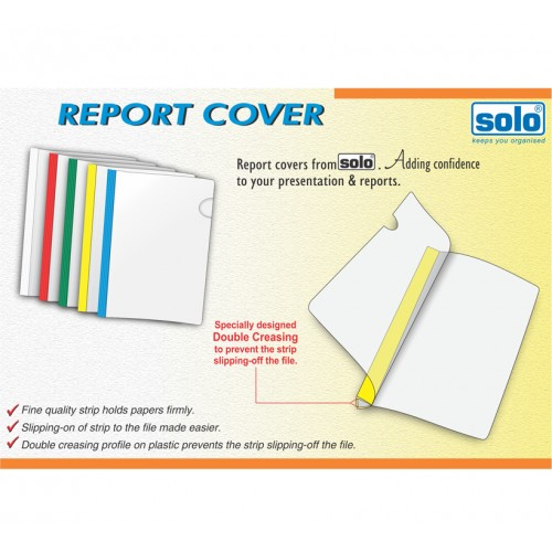 Report Cover / Strip File, Pack of 10 pcs (RC001)