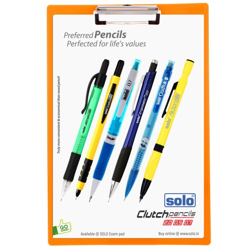 EXAM PAD, New Vibrant colors, SB002, FC SIZE