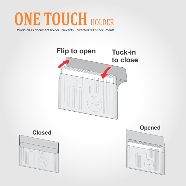 One Touch Holder (SH102), Pack of 5