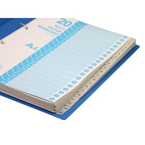 Separatorz (20 uni colour dividers) SP220